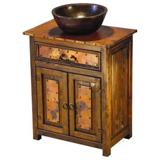 Rustic Bathroom Vanities And Sink Consoles by Indeed Decor