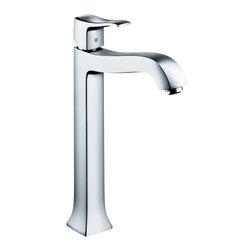 Hansgrohe - Hansgrohe 31078001 Metris C Faucet Tall - Single-Hole Faucet, Tall