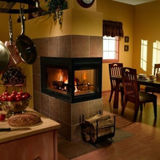 Contemporary Indoor Fireplaces by Hearth & Home Technologies