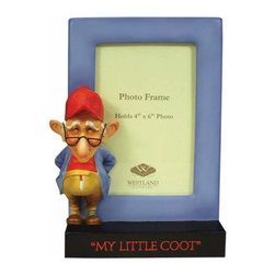 WL - 4 x 6 Inch My Little Coot Figurine Standing By Blue Photo Frame - This gorgeous 4 x 6 Inch My Little Coot Figurine Standing By Blue Photo Frame has the finest details and highest quality you will find anywhere! 4 x 6 Inch My Little Coot Figurine Standing By Blue Photo Frame is truly remarkable.