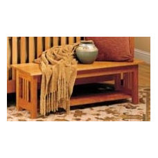 traditional benches by McKinnon Furniture