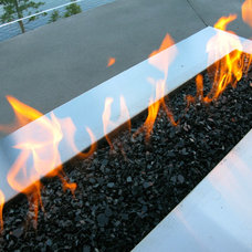Modern Firepits by Okanagan Fireplace Den Ltd.