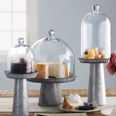Contemporary Dessert And Cake Stands by Neiman Marcus