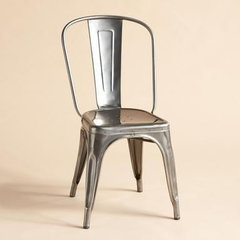 modern dining chairs and benches by Sundance Catalog