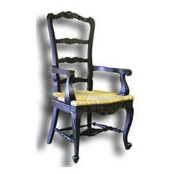 EuroLux Home - New Tall Dining Arm Chair French Country - Product Details