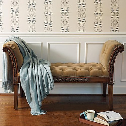 Traditional Bedroom Benches by FRONTGATE
