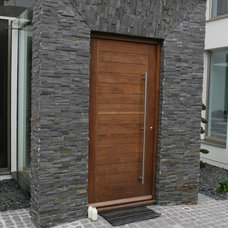 Contemporary Front Doors by Ogle, luxury kitchens, Bathrooms & Stonework