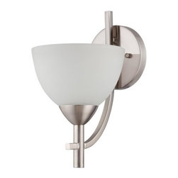 Jeremiah Lighting - Jeremiah Lighting 37661 Hartford 1 Light Wall Sconce with Circular Base - Features: