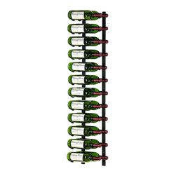 VintageView - Wine Rack 24 Bottle Vintage View Wine Rack - WS42 - Elegantly display 24 wine bottles label forward. VintageView? racking systems are versatile and easy to mount to any wall surface. Use one rack to spruce up your kitchen or living area, or build an entire wall of wine labels.