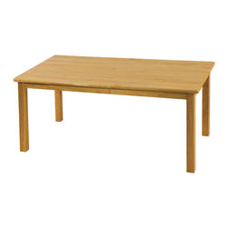 "Ecr4kids - Ecr4Kids Children Playroom 24""X48"" Rectangular Hardwood Table W/22"" Legs - 24x48 Rectangular Hardwood Table (22 Legs)"