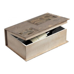 Joshua Marshal - Wine Holder Book Box - Wine Holder Book Box