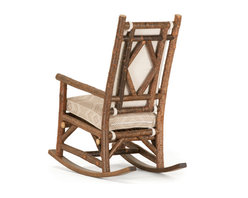 Rustic Rocking Chair #1189 by La Lune Collection - Rustic Rocking Chair #1189 by La Lune Collection