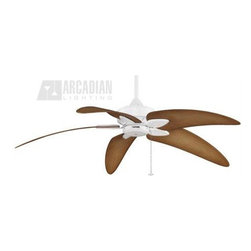 Fanimation - Fanimation Windpointe Fan Motor ONLY - 5 Blades Series X-WM0057AM - A traditional ceiling with with so many options. This is the perfect fan to express your personal design. Tropical, traditional, modern. Make it anything you want by choosing from its many different style options for finishes and blades.