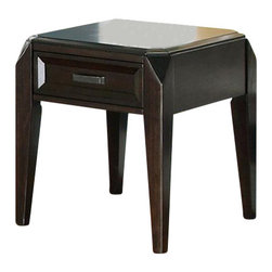 Steve Silver Company - Steve Silver Company Wellington End Table - Steve Silver Company - End Tables - WT100E. The Wellington End table conveys a sophisticated look that is sure to catch your eye. With distinctive features and a rich cherry finish this end table is an excellent addition to any room.
