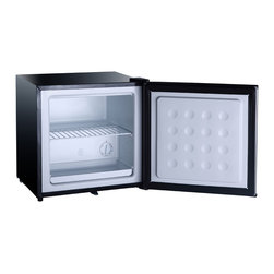 SPT - SPT Energy Star 1.1 cu.ft. Stainless Steel Upright Freezer - Compact, flush back design offers 1.1 cu.ft. of storage, perfect for those with limited space. Features adjustable thermostat, reversible door and removable wire shelf.