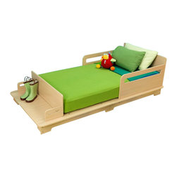 KidKraft - Kidkraft Modern Toddler Bed - Our Modern Toddler Bed has a simple, modern look and helps make the transition from a crib to a regular bed as painless as possible for the young ones in your life.