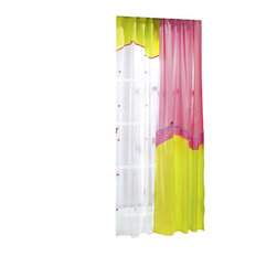 "Cilek - Sweety Curtain - This panel curtain is part of the ""Sweety"" collection. Beautifully crafted by Cilek, this pink curtain can be a great addition to Girls themed bedroom. Astonishing details and vibrant color."
