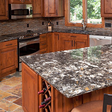 Rustic Kitchen Countertops by The Cabinet Store