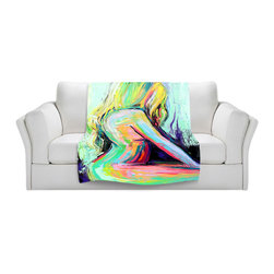 DiaNoche Designs - Throw Blanket Fleece - Still - Original Artwork printed to an ultra soft fleece Blanket for a unique look and feel of your living room couch or bedroom space.  DiaNoche Designs uses images from artists all over the world to create Illuminated art, Canvas Art, Sheets, Pillows, Duvets, Blankets and many other items that you can print to.  Every purchase supports an artist!