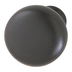 Hafele - Hafele 134.44.310 Matte Black Cabinet Knobs - Hafele item number 134.44.310 is a beautifully finished Matte Black Cabinet Knob.