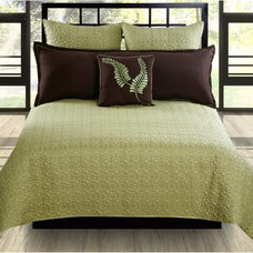 Contemporary Bedding Hallmart Collectibles Matrix Coverlet Set Multicolor - 32824
