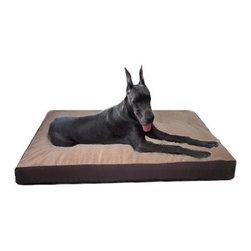 "Mammoth - Memory Foam Crate Mat - Mammoth pet beds collection is versatile, durable, and comfortable. Designed using furniture standards, this pet bed is by far the best on the market today. This style offers the best in orthopedic excellence, it features 3 different pillow inserts. Features: -Crate mat. -Material: 60% Cotton, 40% Polyester. -Industrial strength canvas, denims, micros, velvets, leatherettes, and fleece. -High memory - virgin upholstery fiber fill. -Removable / reversible cushion. -Removable canvas cover. -Easy Velcro system. -Antibacterial. -Stain resistant. -Anti odor. -Fabric protector. -Soft and moldable. -Orthopedic qualities. -Easily transportable. -Can fit into any decor. -100% machine wash / dryable. Specifications: -22X13: 3"" - 4"" H x 13"" W x 22"" D. -24X18: 3"" - 4"" H x 18"" W x 24"" D. -24X20: 3"" - 4"" H x 20"" W x 24"" D. -30X21: 3"" - 4"" H x 21"" W x 30"" D. -30X23: 3"" - 4"" H x 23"" W x 30"" D. -36X23: 3"" - 4"" H x 23"" W x 36"" D. -42X26: 3"" - 4"" H x 26"" W x 42"" D. -46X26: 3"" - 4"" H x 26"" W x 46"" D. -42X30: 3"" - 4"" H x 30"" W x 42"" D. -48x30: 3"" - 4"" H x 30"" W x 48"" D. -56X36: 3"" - 4"" H x 36"" W x 56"" D."