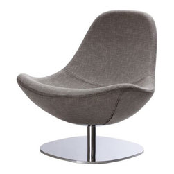 TIRUP Swivel chair - Swivel chair, Eldris black/white