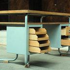 European vintage industrial furniture - Old medical desk no. 9