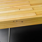 BOWLING ALLEY COFFEE TABLE -