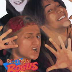 Bill and Ted's Bogus Journey 27 x 40 Movie Poster - Style A - Bill and Ted's Bogus Journey 27 x 40 Movie Poster - Style A Keanu Reeves, Alex Winter, William Sadler, Joss Ackland, Pam Grier, George Carlin, Amy Stock-Poynton, Hal Landon Jr., Annette Azcuy, Sarah Trigger, Chelcie Ross, Taj Mahal, Roy Brocksmith, William Shatner. Directed By: Peter Hewitt. Producer: Interscope Comm., Nelson Entertainment.