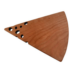 Jonathan's® Spoons - Cherry Swiss Cheese Board - This clever handcrafted cheeseboard stands alone. Its unique shape is bound to be a conversation starter over your next party spread.