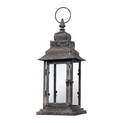 Sterling Industries - Sterling Industries 128-1010 Distressed Finish Hurricane Lantern - Lantern (1)