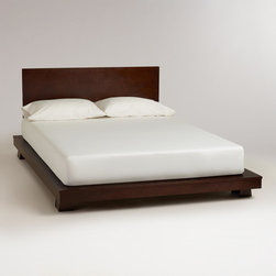 World Market Keiko Bed Crafted Of Meranti Wood Our