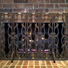 Fireplace Screens by J C Swanson's Fireplace and Patio Shop