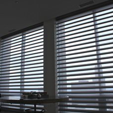 Eclectic Window Treatments by Skyline Window Coverings & Design