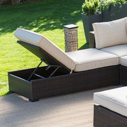 Belham Living Marcella Wide Wicker Lounge Chair - Your outdoor space is about to get a whole lot more comfortable with the Belham Living Marcella Wide Wicker Lounge Chair. This ultra-chic lounger set is perfect for poolside pleasure with its weather-resistant resin wicker base that won't fade, warp or crack when exposed to sunlight and rain. You'll love to put your feet up and relax on the thick, foam-filled cushions which are covered in sleek, water-resistant upholstery – meaning you won't have to worry about errant splashing, wet swim trunks and the like. The best thing about this sophisticated set is that when paired with the rest of the Wide Wicker group of sectional patio furniture, you can mix and match to make the ideal space to fit the specific needs of you and your family. About Belham LivingBelham Living builds catalog-quality furniture in traditional styles at a price that actually makes sense. By listening to our customers and working closely with great manufacturers, we build beautiful pieces worthy of your home. Rich wood finishes, attention to detail, and stylish lines that tie everything together are some of the hallmarks of a Belham Living piece. From the living room or bedroom, through the kitchen, and out onto the deck, there's something from an incredible Belham collection perfect for your style.