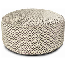 Eclectic Ottomans And Cubes by The Furniture Store
