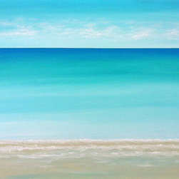 """Dream Sea"" (Original) By Chris Maestri - This Seascape Painting Was Done In Acrylic On Canvas In 2014."