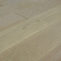 "TEKA PARQUET - French Oak Vintage Sea Fog Engineered Floating Wood Floor- Sample 8"" x 6"" - This listing is for 1 piece of wood floor samples (8"" x 6"")"