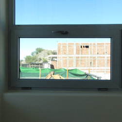 Tilt and Turn Windows and doors - Picture window overseeing the city
