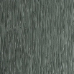 Walls Republic - Streak Slate Wallpaper S43724, Double Roll - Streak is an organic striped pattern in monochromatic schemes. It will create a calming atmosphere in any space with its smooth waving lines and refined texture.