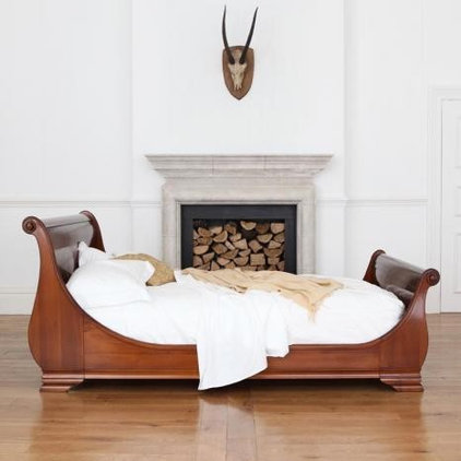 Contemporary Sleigh Beds by And So To Bed