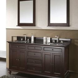"60"" Alessano Double Sink Vanity -"