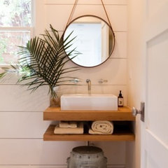 Ideas for my new house!! / Love the shelves for the sink