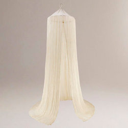 Indian Cotton Gauze Bed Canopy -