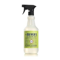 Mrs. Meyer's Glass Cleaner, Lemon Verbena - Mrs. Meyers Clean Day Window Spray in Lemon Verbena is an all natural, eco-friendly cleaner that gives exceptional results. Use on mirrors, windows, and all glass surfaces inside and outside the home to leave all surface sparkling and streak free. The formula is made from all natural, plant-derived ingredients so you can be sure your home and the environment are safe.