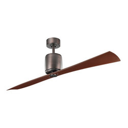 "Kichler - Kichler 300160OBB Ferron 60"" Indoor Ceiling Fan 2 Blades - Remote and 6"" - Kichler 300160OBB Ferron Ceiling Fan"