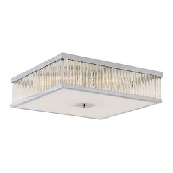 Trans Globe Lighting - Trans Globe Lighting 10163 PC Flushmount In Polished Chrome - Part Number: 10163 PC