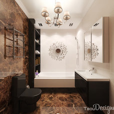 Contemporary Bathroom by Tatiana Kolotushkina