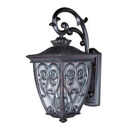 Maxim Lighting - Maxim Lighting 40123CDOB Newbury VX 2-Light Outdoor Wall Lantern - Maxim Lighting 40123CDOB Newbury VX 2-Light Outdoor Wall Lantern